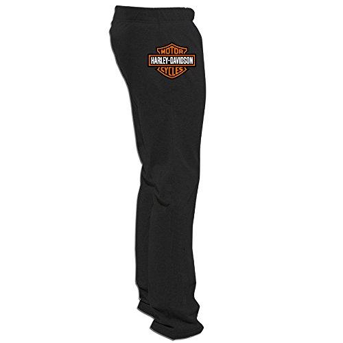 Price comparison product image PuCugg Men's Harley Davidson Logo Sweatpants Black