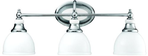 Kichler 5369CH Pocelona Bath 3-Light, Chrome