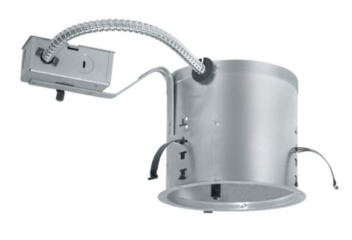Juno Lighting IC21R 6-Inch IC Rated Shallow Incandescent Universal Remodel Housing