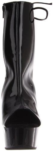 1018 Pat blk Bottines Noir Pleaser Classiques Delight Femme blk 57AwAU
