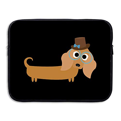 Water-resistant Laptop Bags Long Haired Dachshund Ultrabook Briefcase Sleeve Case Bags 13 Inch]()