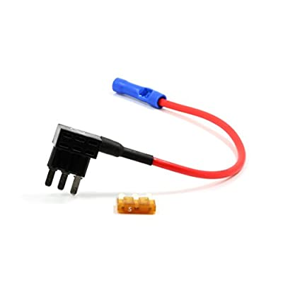 Lumision ADD-A-Circuit Micro3 ATL Fuse-TAP Add ON Dual Circuit Adapter AUTO CAR Terminal + 5 AMP Fuse Fuse Tap fusetap: Car Electronics