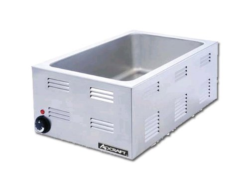 Adcraft FW-1200W Portable Steam Table fOOD WARMER