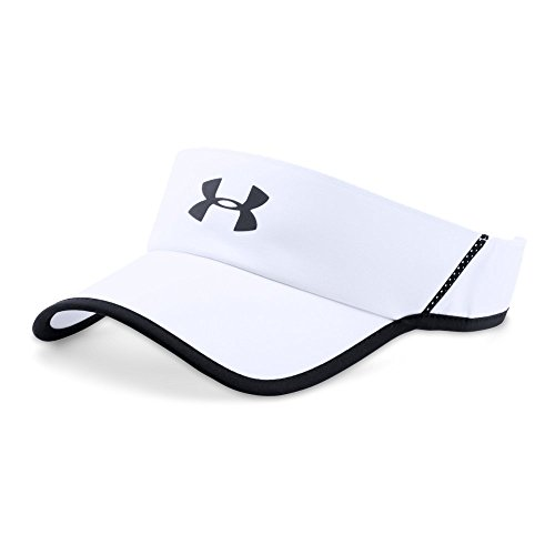 Under Armour Men's Shadow 4.0 Run Visor, White (100)/Reflective, One Size
