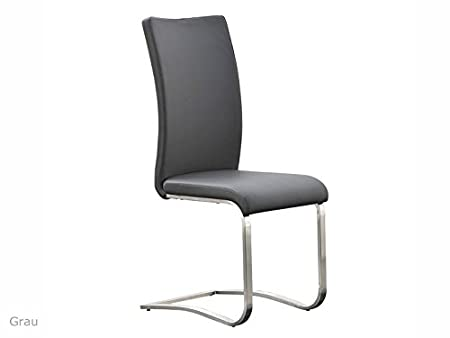 2 X Swing Arco I Cantilever Chair Leather Chair Dining Chair Kitchen Chair  Schwingstuhl Upholstered Chair