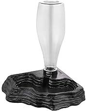 POPETPOP Podajnik wody gadów - automatyczny dozownik wody akcesoria do karmienia żółw żaby brodate smoki jaszczurki do zbiornika terrarium - szary