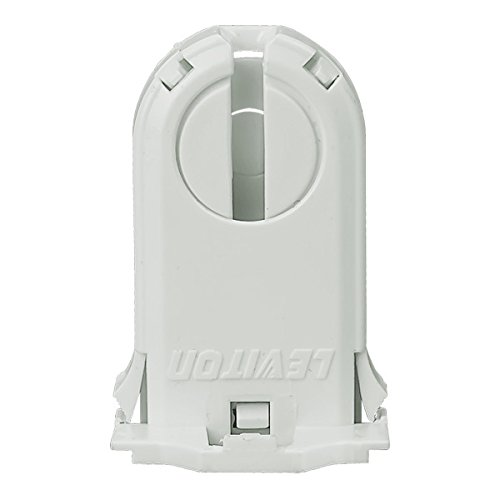 (Leviton 23660-SWP Fluorescent Lampholder, T8/T12 (G13 base) Medium Bi-Pin, Shunted, Turn-Type with Lamp Lock, 30 MM)