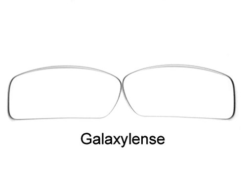 Galaxy Replacement Lenses For Oakley Gascan Crystal Clear Color 100% UVAB -