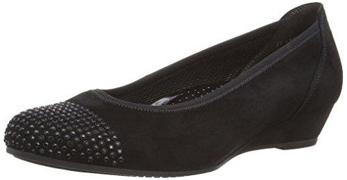 Tacón Zapatos 694 Gabor De Negro 22 Mujer 47 Schwarz Shoes BqwPPnpXT