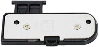 PhotoTrust 2 Pieces Battery Door Cover Lid Cap Replacement Repair Part Compatible with Nikon D3100 DSLR Digital Camera