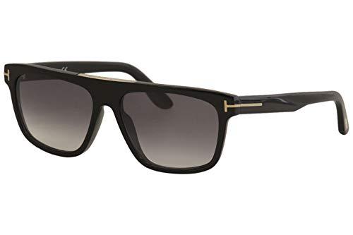 Sunglasses Tom Ford FT 0628 Cecilio- 02 01B shiny black/gradient ()