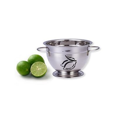 (Supreme Housewares Stainless Steel Colander, Small, Lemon)