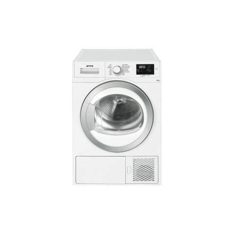 2aec97fd264555 Smeg DHT81EIT Libera installazione Carica frontale 8kg A+ Bianco  asciugatrice: Amazon.it: Grandi elettrodomestici