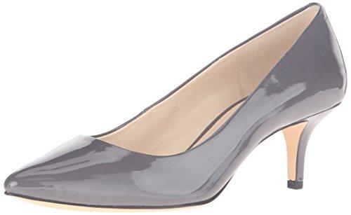 Nine West Xeena Synthetic Kleid Pump Dark Grey