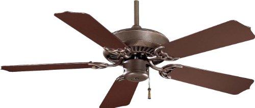Oil Rubbed Bronze Fan Blades (Minka-Aire F572-ORB, Sundance, 42-Inch 5 Blades Ceiling Fan, Oil Rubbed Bronze)