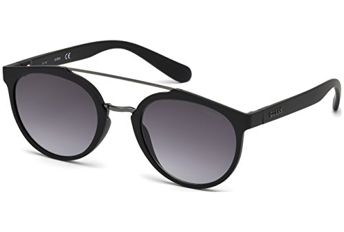 Guess - Gu6890, Rondes, Injecté, Homme, Black/smoke Shaded(02c A), 52/23/140