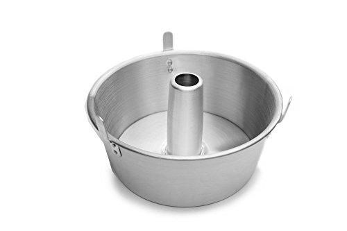 Fox Run 4795 Loose Bottom Angel Food Cake Pan, Aluminum, 10.75-Inch