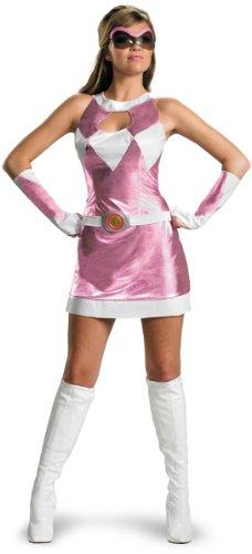 Purple Power Ranger Halloween Costume (Pink Power Ranger Costume - Small - Dress Size 4-6)