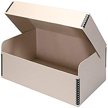 Archival Acid Free Craft Lineco Tan Hinged Lid Photo Box 5.5 x 7.75 x 12 Art Photos or Documents Protect Longevity Cards. Print Prints Holds up to 1,100 of 4x6 or 5x7 Pictures