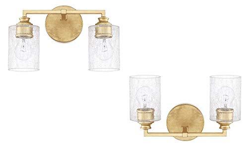 Capital Lighting 120521CG-422 Two Vanity Light - 2 Pack