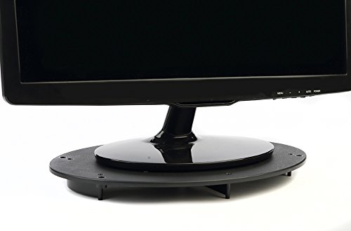 VUR 8800- VuRyser Stackable Oval 1 inch Monitor Stand-Black-