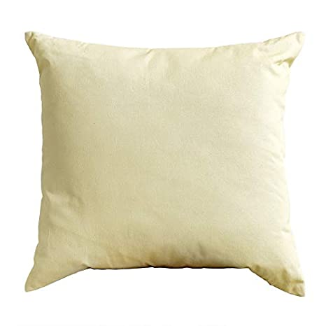 Kenay Home Cojín Basic Libby, Amarillo, 45x45cm: Amazon ...