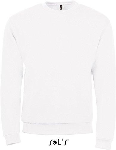 SOLS-SPIDER-Felpa Unisex-Colore Bianco-Taglia M