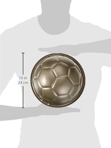 Staedter 614048 - Molde antiadherente con forma de pelota de fútbol para tartas y flanes: Amazon.es: Hogar