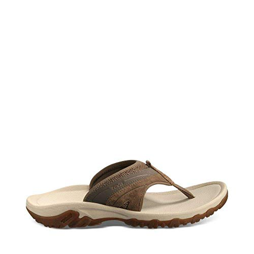 Teva Men's Pajaro M Flip Flop,Brown,9 M US (Teva Mesh Sandals)