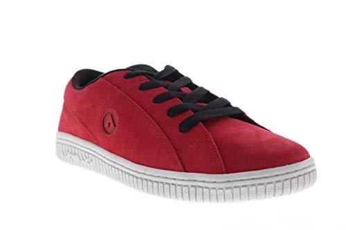 Airwalk Mens The One HD Red Athletic Skate Shoes 11 (Skateboards Airwalk)