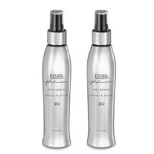 Kenra Platinum Hot Spray 20 Liter 33.8oz with Free 8oz