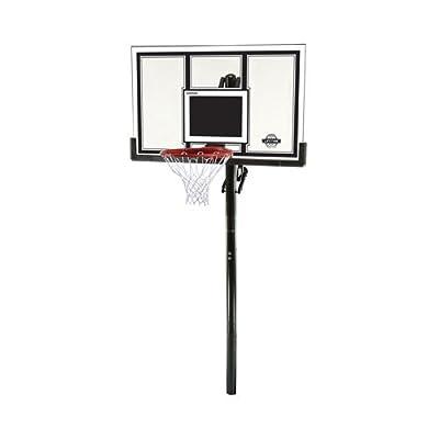Lifetime 71524 XL Height Adjustable Basketball System, 54 inch Shatterproof Backboard | Popular Toys
