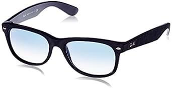 Ray-Ban Wayfarer RB2132 Sunglasses 62423F-55 - Black/top Black Alcantara Frame, Blue Gradient