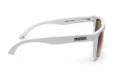 Collection de Occhiali UVA White Avec 100 UVB Etui Signature Unisexes Lunettes UV400 Soleil Catania Protection 8Sq1xEUww