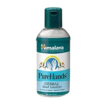 Buy Himalaya Herbals Purehands Herbal Hand Sanitizer 50ml Pack