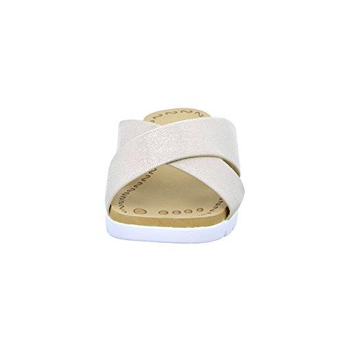 Alyssa Damen Pantolette NF65 Metallic Gold