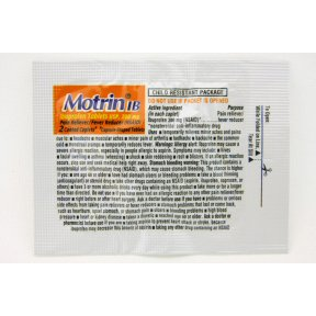 Motrin IB Ibuprofen 50 Packets/Box, 2 Tablets/Packet