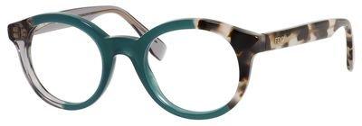 FENDI Eyeglasses 0067 0Mxu Black Olive Havana - Fendi Mens Eyeglasses