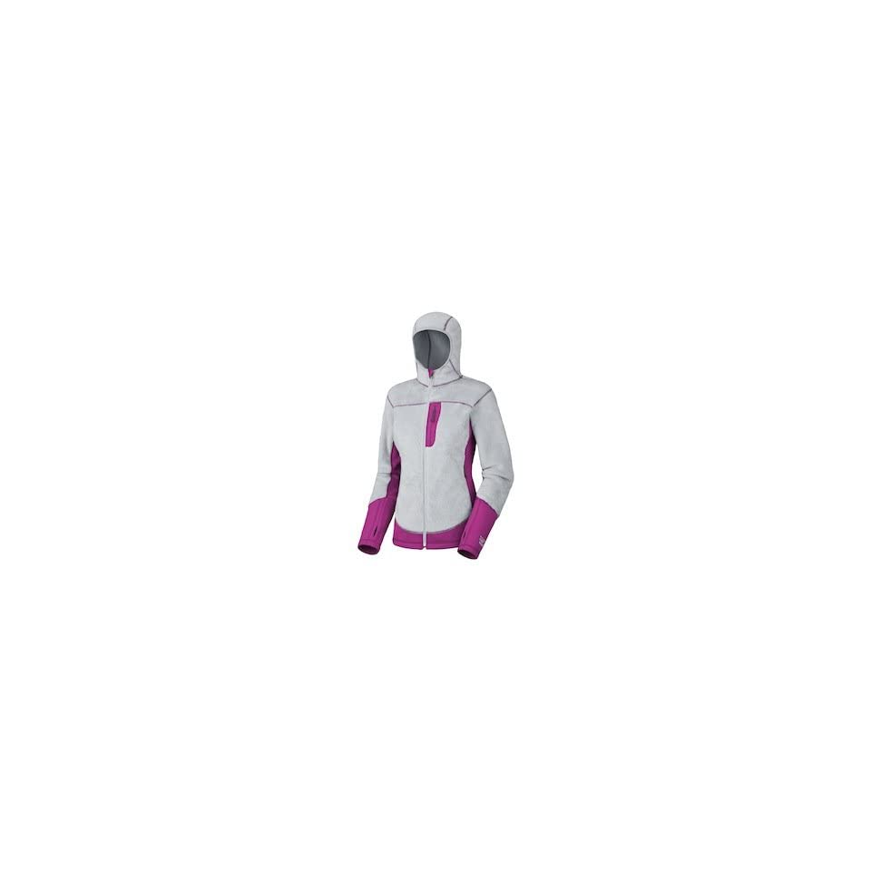 Mountain Hardwear Womens Monkey Lite Jacket Grey/Berry (XL)