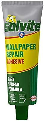 Solvite Wallpaper Repair Adhesive Wallpaper Paste For Fixing