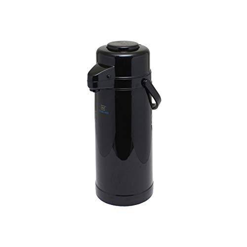 (Plastic body, glass lined 2.2 lt/74 oz airpot, plastic body, glass lined, push button, comes in each)