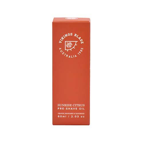 VIKINGS BLADE Pre Shave Oil, Sunrise Citrus (Mandarin, Tangerine & Orange)