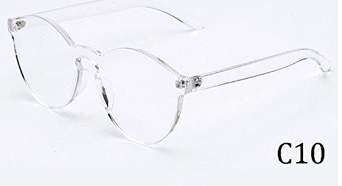 TL-Sunglasses Occhio di gatto multi-colore di Candy occhiali da sole outdoor uomini donne 9803,C10