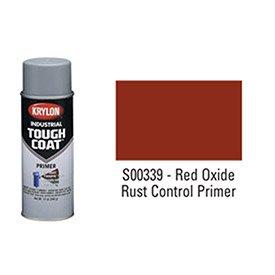 Krylon Industrial Tough Coat Red Oxide Rust Control Primer - Lot of 12