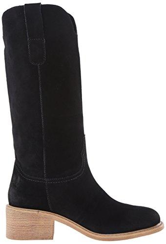 Rechtwinklige Moxy Frauen Black Spitze Mojo Stiefel Wildleder Fashion fqE7d55xw