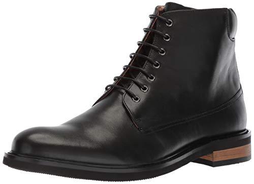 ZANZARA Men's Okada Chukka Boot, Black, 10 M US