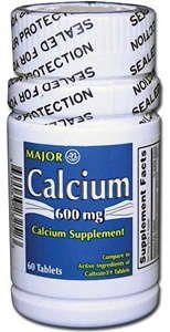 Calcium Tablets, 600mg, 60ct