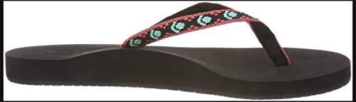 Black Flip Women's Pink Bak Reef Flop Ginger Black Aqua Drift tRXnFxwU