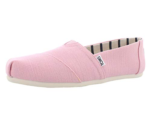 (TOMS Women's The Venice Collection Shoes Powder Pink Heritage Canvas 7)