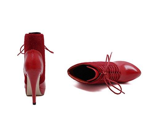 Meijili ,  Damen Chukka Boots Rot